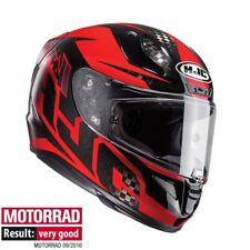 Hjc Rpha 11 Lowin Carbon Black / RED Motorcycle / Motorbike Full Face Helmet S,L
