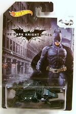THE BAT THE DARK KNIGHT RISES 75 YEARS OF BATMAN HOT WHEELS DIECAST 2014