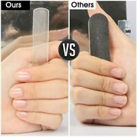 Glass Nail File Shiner Polisher Buffer Nude Crystal Manicure Tool Professional