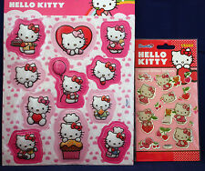 ** HELLO KITTY 3d sticker **, ** HELLO KITTY CRYSTAL-paillettes-sticker ** paniini ** NOUVEAU