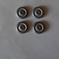 Pièces pour Dinky: 4 roues série 23, 24 pour différents modèles 24M,23C,23D