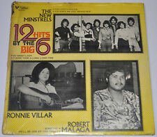 Phil 12 HITS BY THE BIG 6 New Minstrels, Jun Polistico OPM SEALED LP Record