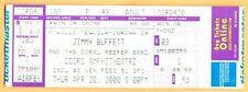 2000 Jimmy Buffett concert ticket Coral Reefer Band Coors Amphitheatre 4/20/2000