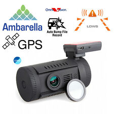Mini 0826 Ambarella A7LA50 Super HD 1296P Car GPS Dash Camera Video DVR w/CPL Q5