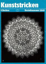 Kunststricken # 2049 Strickdeckchen - Kunststricken