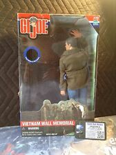 "*~ GI Joe Vietnam Wall Memorial Hasbro 12"" Action Figure New CHB G.I. L@@K!"