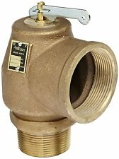 "CONBRACO 13-214-B15 RVS13-112 1.5""M x 2""F 15PSI STEAM VALVE 1,900 LBS/HR"
