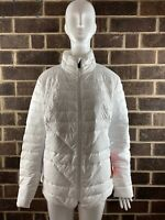 NWT The North Face Lucia Hybrid White Down Insulated Jacket Women's Size XL