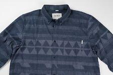 Carhartt WIP Work In Progress Slim Blue Merida Shirt L Large