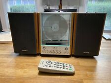 SONY CMT-EX1 AM-FM/ CD PLAYER HI-FI STEREO BOOKSHELF MICRO SYSTEM Tested 🔥🔥🔥