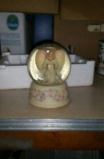 "Seraphim Classics Angel Iris ""Rainbow's End"" Music Box Snowglobe"