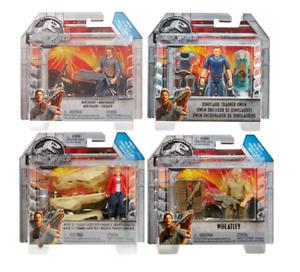 Jurassic World Action Figures - Trainer & Battle Owen, Maisie & T-Rex, Wheatley
