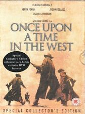 New! Once Upon A Time In The West PAL REGION 2 DVD (2 Disc Set) Special Edition