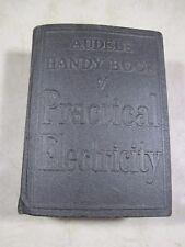 Vintage 1951 Audels Handy Book Of Practical Electricity Frank D Graham