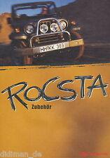 Asia motors rocsta accesorios folleto 3 96 brochure 1996 auto folleto auto turismos