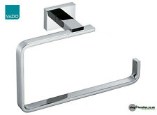 Vado Level Towel Ring in Polished Chrome