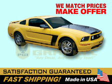2005 2006 2007 2008 2009 Mustang '69 Boss-Style C Side Stripes Decals Stripe Kit
