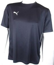 Puma Mens Football T-Shirt Many sizes & Nice BLACK Colour!!!