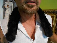 Five (5) Art Deco Style Rabbit Fur Collar / Headband / Trim /Cuffs ...Beautiful!