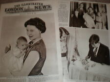 Photo article Queen Elizabeth II and new baby Prince Andrew 1960