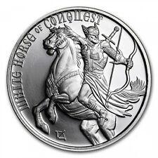 1 Unze Silber Round Four Horseman (White Horse of Conquest) 999,99