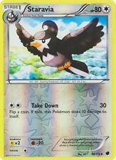 x4 Staravia - 96/116 - Uncommon - Reverse Holo Pokemon Plasma Freeze M/NM Englis
