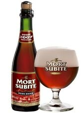 Mort Subite Lambic - Sour, Anno 1686, Belgian Craft Beer Glass/Chalice