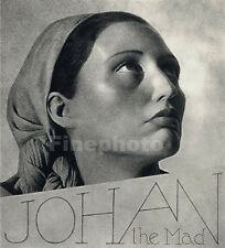 1936 Vintage SURREAL QUEEN PRINCESS Spain Photograph Art Decor WILLIAM MORTENSEN