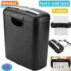 Shredder Paper 6sheet Strip Cut Commercial HOME OFFICE PAPER Destroy Credit Card