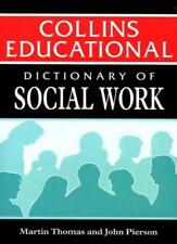 Dictionary of Social Work (Working with People),Martin Thomas, John Pierson