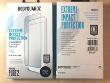 BodyGuardz Pure2 iPhone X XS Glass Screen Protector - Clear