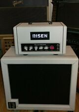 Rare White Risen Claymore 1/2 stack ! 2/10 ! Amplifier Head and 1x12 Cabinet.