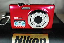 Excellent Nikon Coolpix S2550 12MP Appareil Photo Numérique - Choix de Couleurs