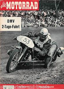 Das Motorrad Heft 12 13.Juni 1959 Test MZ ES 175 Zweitakter in England