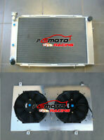 3Row Aluminum Radiator+Shroud+Fans for HOLDEN Statesman WB V8 1980-1984 81 82 83