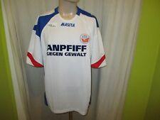 """Hansa Rostock Masita Relegation Spieler Version Trikot 2009/10 """"ANPFIFF"""" Gr.XL"""
