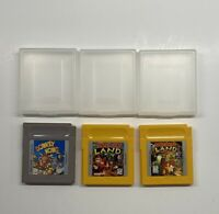 Gameboy Donkey Kong, Donkey Kong Land & Donkey Kong Land 2 w/ Cases AUTHENTIC!