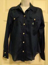 Vintage H Bar C California Ranch Wear Shirt Blouse Top Western Long Sleeve 1970