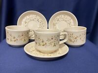 Lenox Temperware MERRIMENT set of 3 Cups & Saucers (Temper-ware)