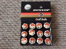 Dunlop 65 Golf Balls Vintage Still In Wraps
