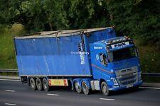 Truck Photos Fox Brothers of Blackpool Volvo FH & Walking Floor PJ69 SXP