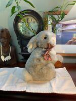 Vintage Maine 1959 Animal Plush Bunny Rabbit Made In Korea RARE Pristine SHAPE