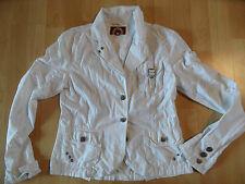 SUBLEVEL schöne leichte Blazerjacke weiß Gr. M TOP MS1215