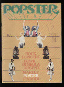 POPSTER 15/1978 BRIAN ENO IVAN CATTANEO DIANA ROSS BOWIE BLONDIE POSTER FINARDI