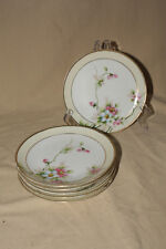 "LOT OF 6 6 1/4"" BREAD AND BUTTER PLATES MORIMURA NIPPON GREEN MARK"