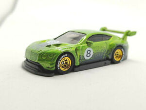 hot wheels 2020 unspun 2018 Bentley Continental GT3 unrivet - Rubber Tire