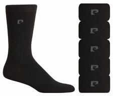 Pierre Cardin Formal Cotton Blend Mens Socks - UK Size 7-11 (5 Pairs)