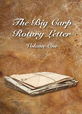 THE BIG CARP ROTARY LETTER VOLUME ONE 1-  SPRING SALE WAS £30 NOW £9.95