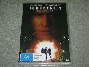 Fortress 2 - Christopher Lambert - Brand New & Sealed - Region 0 - DVD - Rare