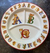 Brand New Tiffany & Company 'Alphabet Bears' China Dinner Plate